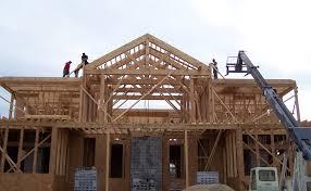 timber frame house construction photos