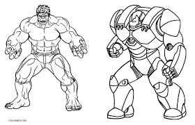 Iron Man Hulkbuster Coloring Pages Coloring Pages Ideas Avengers