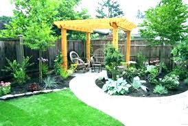 Landscape Design For Small Backyards Simple Inspiration Design