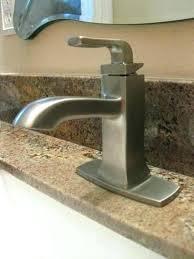kohler rubicon shower faucet single hole handle bathroom in vibrant brushed nickel parts faucet bathroom kohler rubicon shower chrome