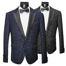 Patterned Tuxedo Adorable SCUZZATTI FLORAL PATTERNED TUXEDO JACKET SLIM FIT TWO COLOURS EBay