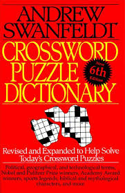 a book cover crossword clue crossword puzzle dictionary andrew swanfeldt paperback of a book cover crossword