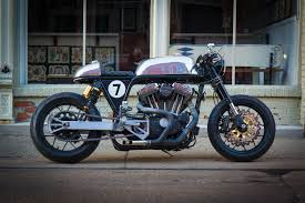 sportster cafe racer by ardent motorcycles