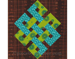 Eternity Knot rotary quick cut quilt block pattern PDF & Eternity Knot rotary quick cut quilt block pattern, PDF, celtic knot pattern,  easy quilt pattern, infinity knot quilt medallion, rotary cut, Adamdwight.com