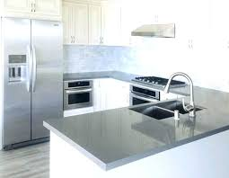 kitchen countertops quartz with dark cabinets. White And Gray Quartz Countertops See The Kitchen Grey Dark Cabinets Com  Shaker With