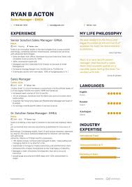 Sales Manager Cv Template Sales Manager Resume Samples And 10 Examples