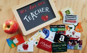 top valentines day gift cards for teacher
