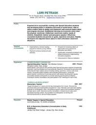 46 Best Teacher Resumes Images On Pinterest | Teacher Resume ...