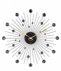 karlsson wall clock wall clock sunburst