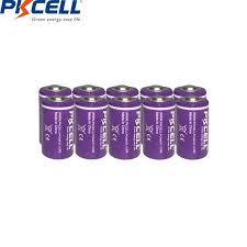 Интернет-магазин 10 шт./лот <b>PKCELL</b> 1/2 <b>AA батарея</b> 3,6 V ...