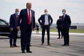 Trump's refusal to wear a mask is helping politicize a crucial tool for  fighting virus - The Boston Globe