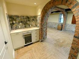 interior cinder block wall covering walls home design ideas kitchen blo