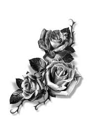 Rose Tattoo Návrhy Tetování Tetování Růže Nápady Na Tetování A