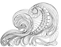 Coloring Pages Of Ocean Waves Coloring Style Pages Costal Dreams
