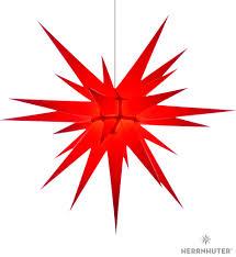 Herrnhuter Moravian Star I8 Red Paper 80cm31 Inch
