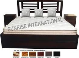 sunrise international storage bed wooden indian queen size double bed with storage under mattress in india compare s