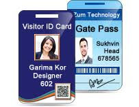 Pass Cards Gate Design Id For Software Passes Visitors Creates