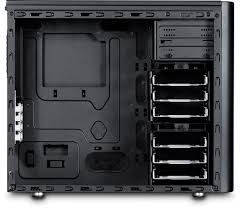 Fractal Design Arc Midi Black High Performance Pc Computer Case Fractal Design Arc Series Computer Cases