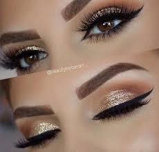 prom makeup gold sparkly holiday makeup ideas makeup musely tip eyemakeup