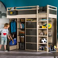 kids beds with storage. Spot-High-Sleeper-Graphite-Bed.jpg Kids Beds With Storage