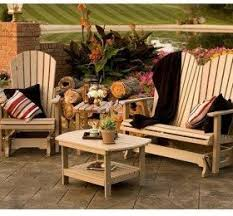 furniture made from recycled plastic. poly lumber recycled plastic patio furniture made by amish craftsmen will from