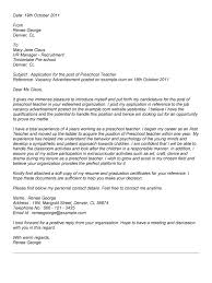 Best Solutions Of Cover Letter For Teaching Job Nz In Summary Sample