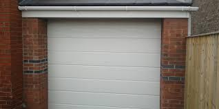single electric garage door