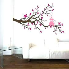 wall paint designs for walls ideas painting decorated interior decorating cats stickers creative pictures
