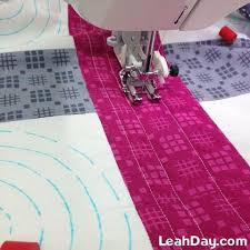 Machine quilting easy design with walking foot | Couture ... & Machine quilting easy design with walking foot. Beginner Quilt  PatternsBeginner ... Adamdwight.com