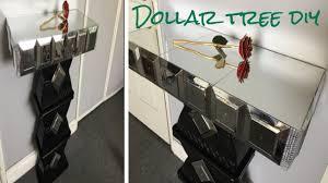 mirrored side table. Dollar Tree DIY/ Mirrored Side Table So Glamorous! B