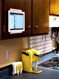 Favorite Find // iPad Cabinet Mount | Sarah Hearts