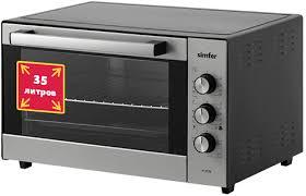 Купить <b>мини</b>-<b>печь Simfer M 3528</b> серебристый/черный в ...