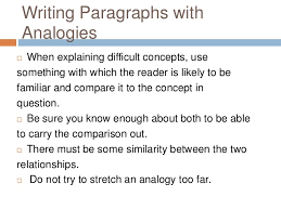 paragraph development by analogy 5