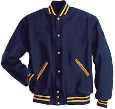 custom all wool mens letterman jacket