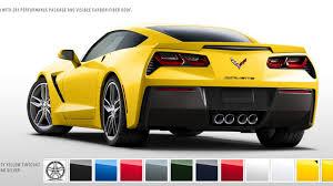 2014 Chevrolet Corvette Stingray Color Configurator Goes Online