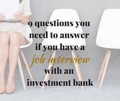 40 Investment Banking Interview Questions You Need To Know The Answer Beauteous Investment Banking Walk Me Through Your Resume