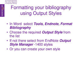 Your Bibliography With