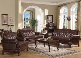 Dallas Designer Furniture Birmingham Formal Leather Living Room Set