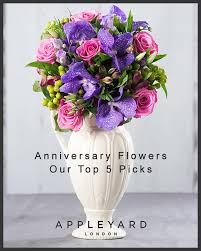 anniversary flowers our top 5 picks