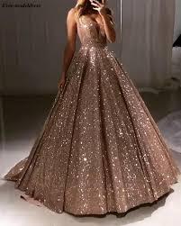 Блестящие Роскошные платья для выпускного вечера 2020, Длинные блестящие  тюлевые Платья А-силуэта с глубоким V-образным вырезом и открытой спиной,  Сексуальные вечерние наряды, вечернее платье на заказ