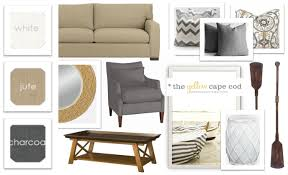 Living Room Accessory The Yellow Cape Cod Lake Front Living Room