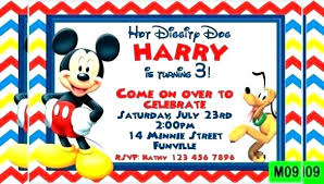 Free Mickey Invitations Amazing Free Mickey Mouse Baby Shower
