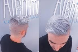 Blond'in coiffure mixte c est les couleurs les decolorations, coiffure femmes et enfants mais pas seulement. Coupe Homme Rase Degrade Technique Argent Couleur Gris Intense Clair Alchimie Coiffure Aix Coiffeur Coloriste