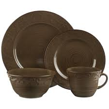 brown dinnerware sets. Contemporary Brown With Brown Dinnerware Sets O