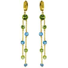 image is loading 8 99 carat 14k solid gold chandelier earrings