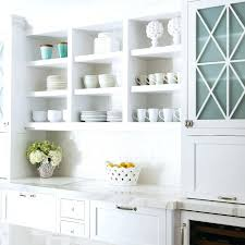 glass cabinet doors white kitchen with blue tinted ikea