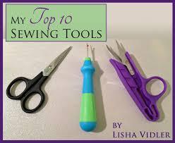 my top ten sewing tools