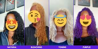 how to bleach and dye dark hair at home