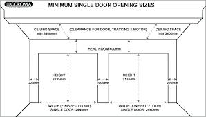 standard double garage door size standard double garage size south standard garage door dimensions south garage