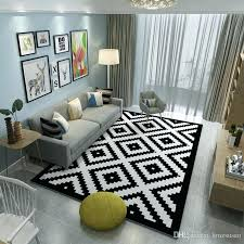 large floor rugs brief carpets large living room area rugs washable parlor mat black white rectangle large floor rugs